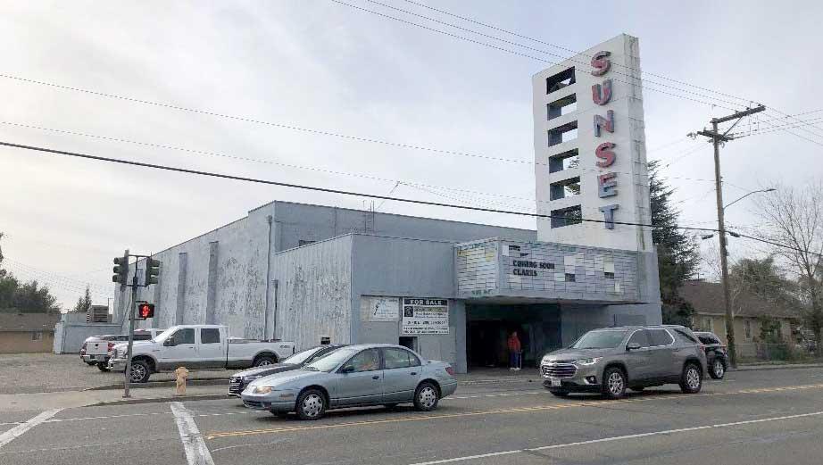 Sunset Cinema Site Current