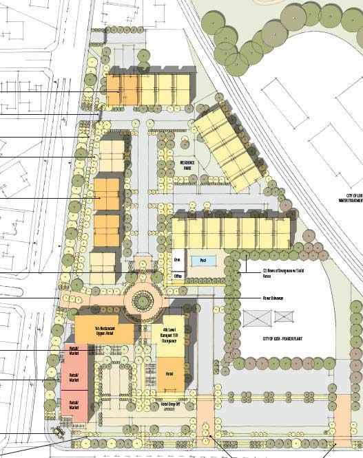 Lake House proposed rendering